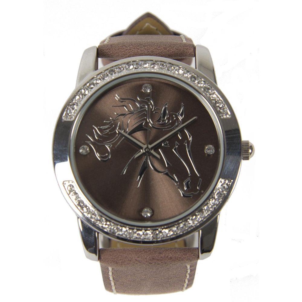 Laikrodis su žirgo atvaizdu