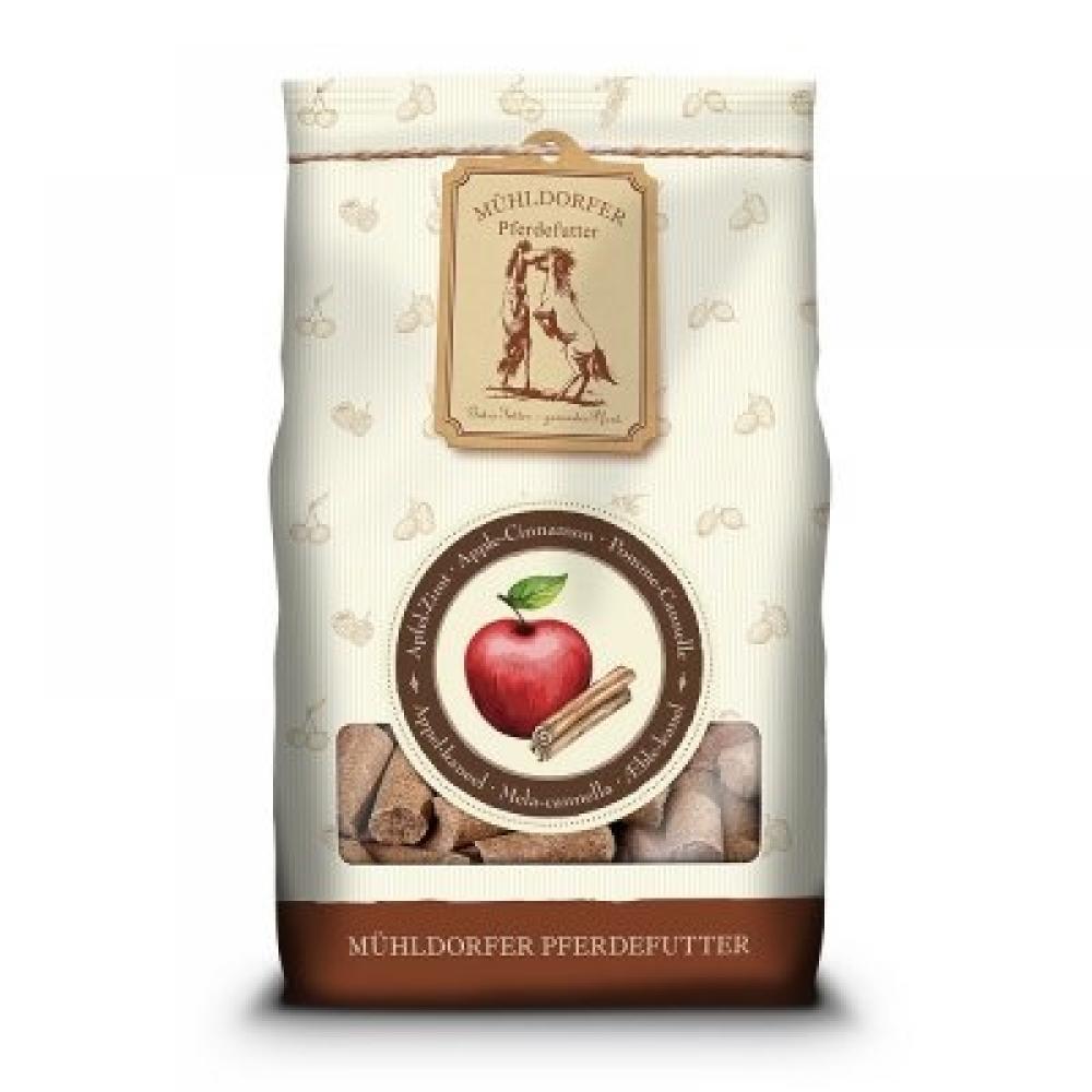 Skanėstai Leckerli, obuolių ir cinamono skonio