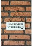 Dekoratyvinė medinė lentelė Horse