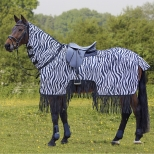 Gūnia nuo musių jojimui Zebra Fringe