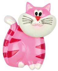 """Šaldytuvo magnetas """"Cat"""", rožinis"""