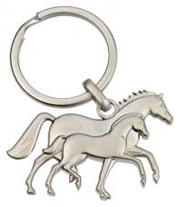 """3D raktų pakabukas """"Mare and Foal"""""""