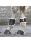 Kojų apsaugos su kailiuku, galinės