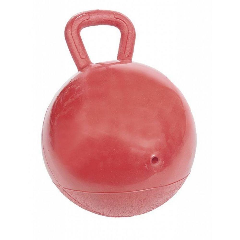 Žaidimų kamuolys žirgams su rankena