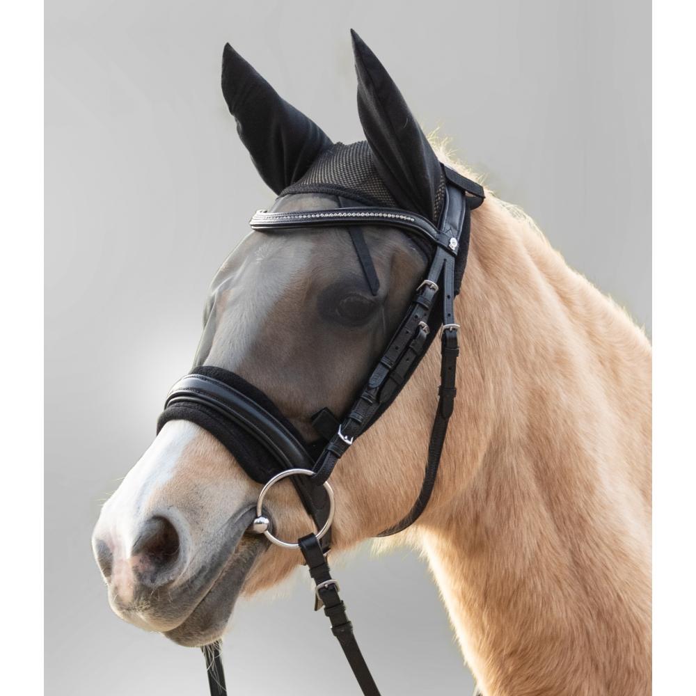 Kaukė nuo musių Ride su ausų apsauga