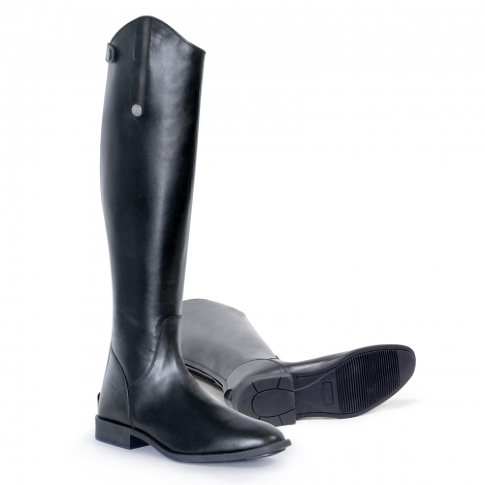 Odiniai jojimo batai  ASCOT, platesniu aulu