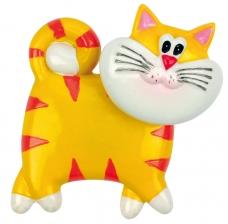"""Šaldytuvo magnetas """"Cat"""", geltonas"""