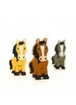 Trintukų rinkinys - trys arkliukai