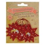 Kalėdinės dekoracijos Horses
